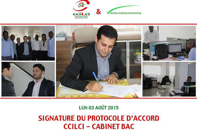 La ccilci signe un accord avec business auditing and for Chambre de commerce libanaise