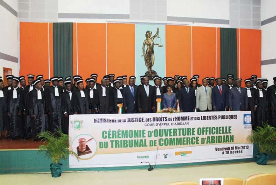 tribunal du commerce  la promulgation de la loi sur sa cr u00e9ation autoris u00e9e