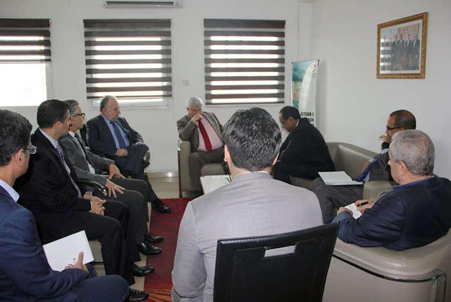 C te d ivoire une d l gation du fmi en visite la ccilci for Chambre de commerce libanaise