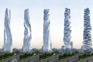 Immobilier: Dubaï pourrait accueillir la première tour rotative au monde
