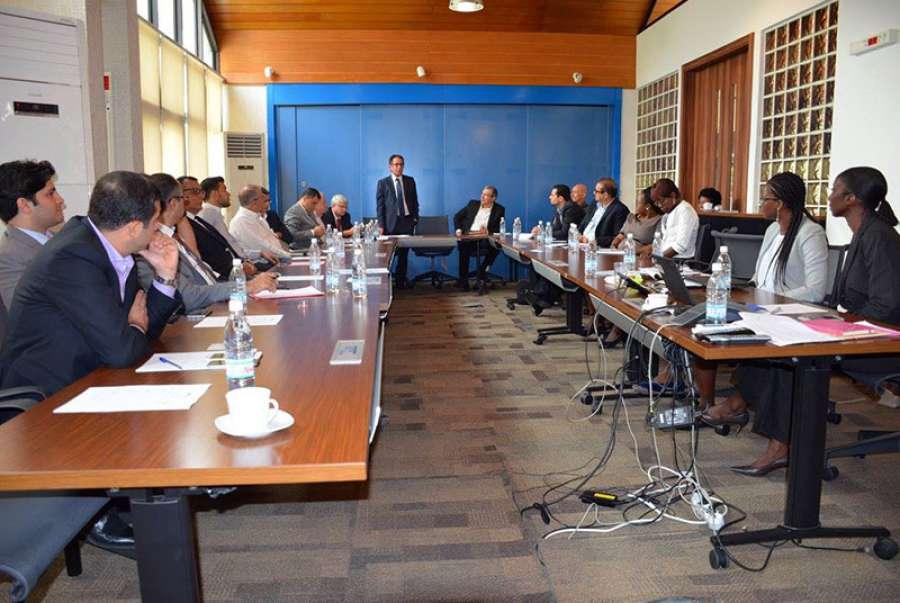 La sfi accueille les membres de la ccilci for Chambre de commerce libanaise