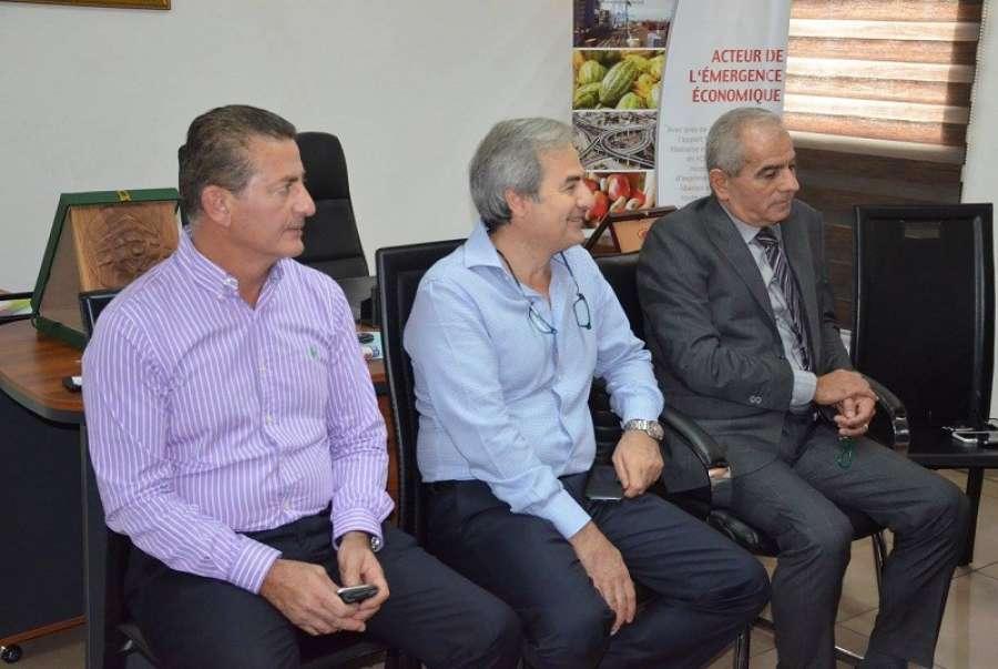 C te d ivoire le nouveau pr sident de la cgeci en visite for Chambre de commerce libanaise