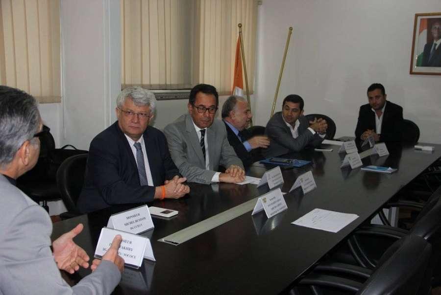 Le ministre jean louis billon re oit une d l gation de la for Chambre de commerce libanaise